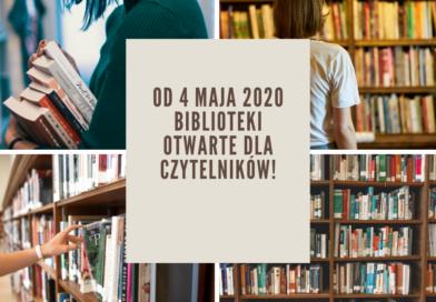 Gminna Biblioteka czynna dla czytelników