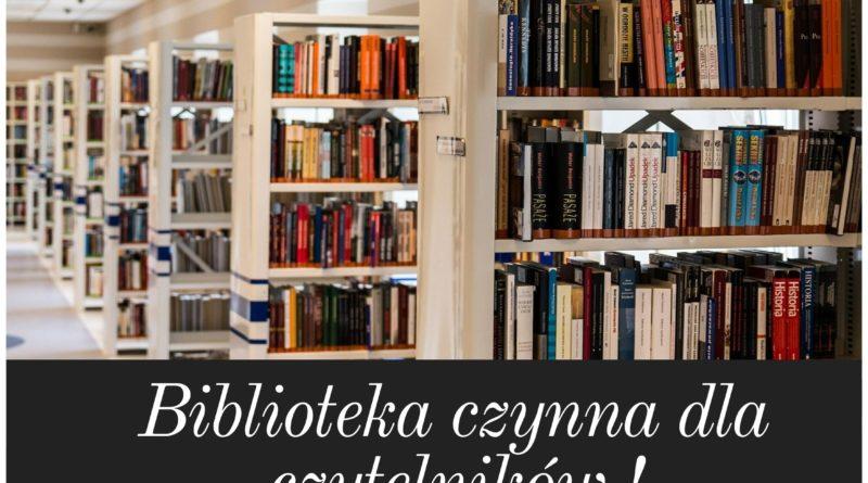 Biblioteka OTWARTA !