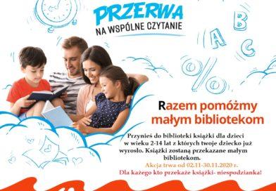 Zbiórka książek dziecięco-młodzieżowych !