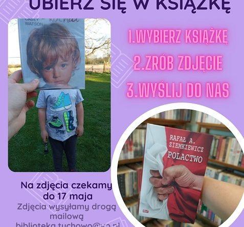 """Projekt fotograficzny ,,UBIERZ SIĘ W KSIĄŻKĘ"""""""